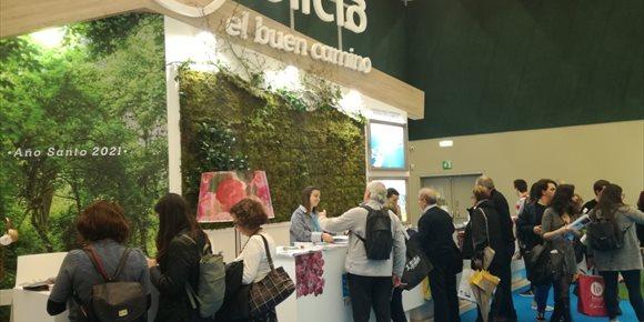 8. La oferta turística de Galicia se presentó este fin de semana en ferias del País Vasco y Andalucía