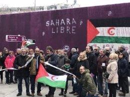 Salida de tres camiones con ayuda humanitaria con destino al Sáhara