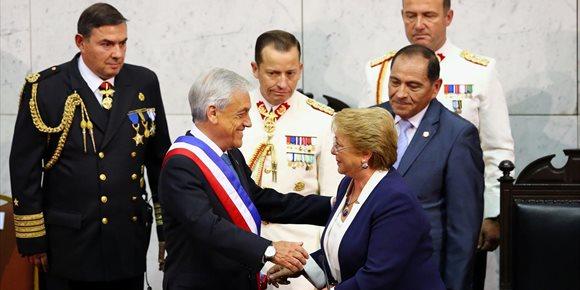 7. Piñera jura por segunda vez como presidente de Chile