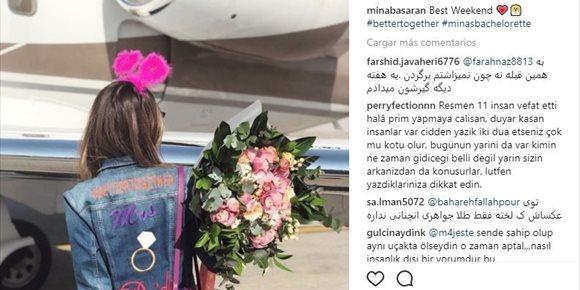 10. En el avión siniestrado en Irán iban las asistentes a la despedida de soltera de la hija de un empresario turco