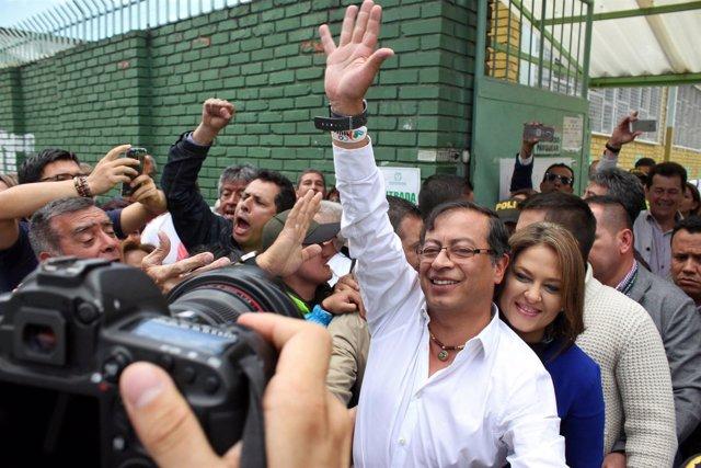 Gustavo Petro, candidato presidencial de la izquierda colombiana