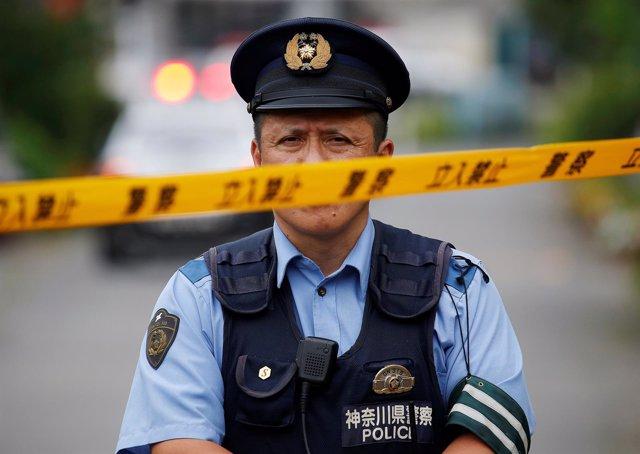 Policía en Japón