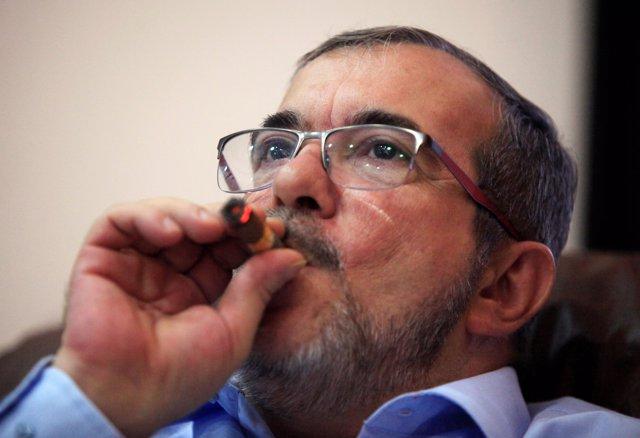 El líder de las FARC, Rodrigo Londoño Echeverri, alias 'Timochenko'