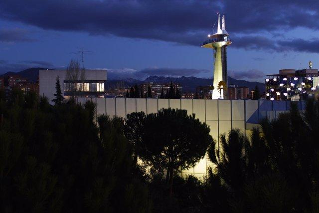 Torre de observación del Parque de las Ciencias de Granada