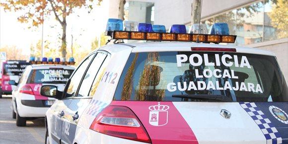 2. Detenido en Guadalajara porque tras chocar contra tres vehículos dio 0,95 en la alcoholemia