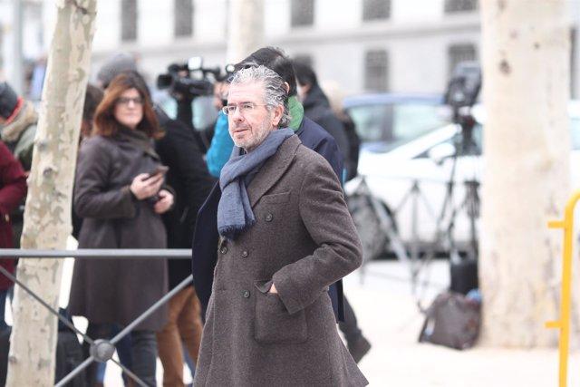 Francisco Granados llega a la Audiencia Nacional para declarar