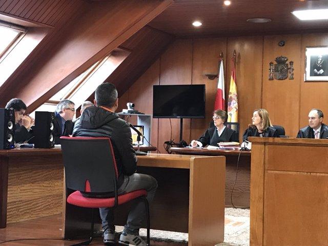 Acusado de abusar de su hija de tres años reconoce los hechos en el juicio