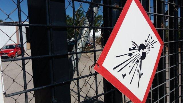 Imagen de la pirotecnia Ricardo Caballer en la que se ha producido el accidente