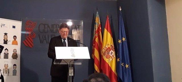 Ximo Puig en un acto en Alicante