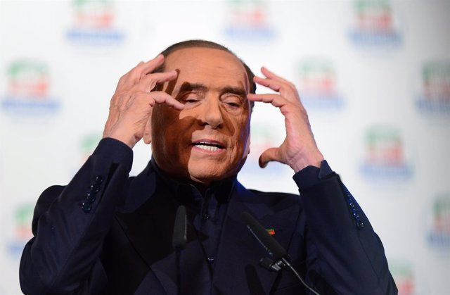 El líder del partido Forza Italia, Silvio Berlusconi