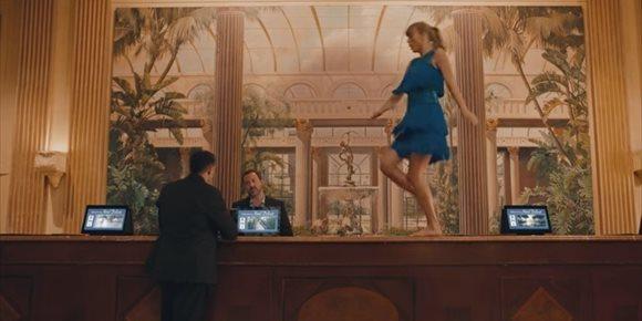 4. Taylor Swift, encantada de ser invisible en su nuevo videoclip: Delicate
