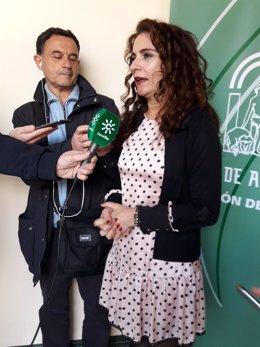 La consejera andaluza de Hacienda y Administración Pública, María Jesús Montero