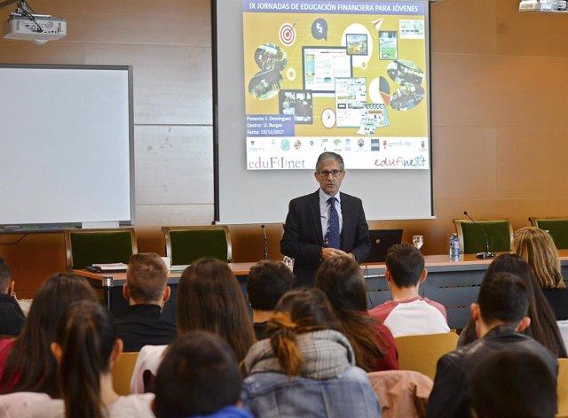 Participantes en el curso de educación financiera Edufinet