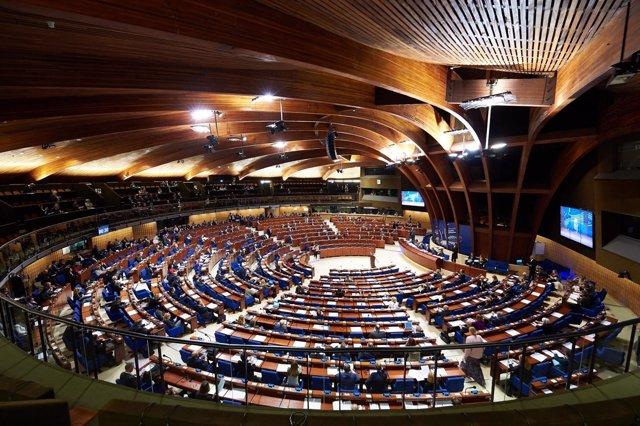 Plenario de la Asamblea Parlamentaria del Consejo de Europa
