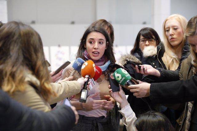 Declaraciones de Montero en la reunión Rumbo 2020: La revolución ya es feminista