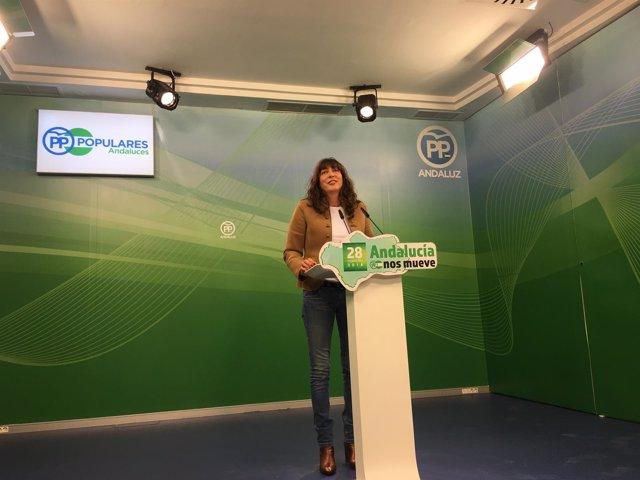 Loles López, en rueda de prensa