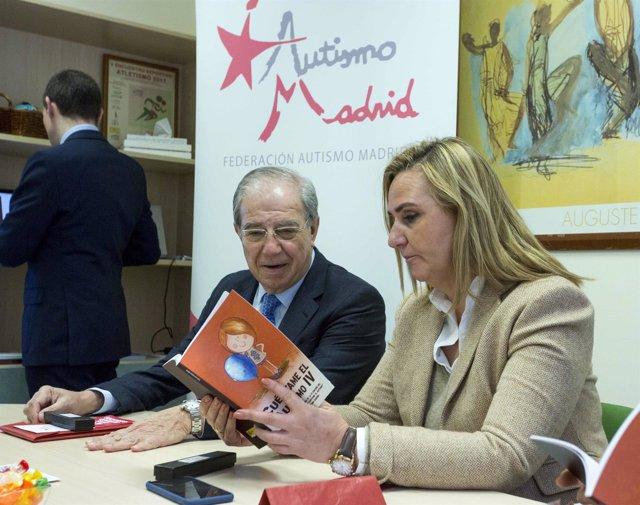 Rosalía Gonzalo se reúne con el presidente de la Federación de Autismo de Madrid