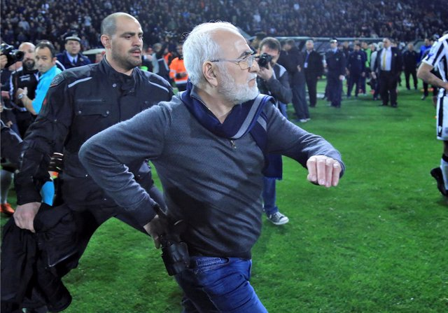 Ivan Savvides, dueño del PAOK Salonika