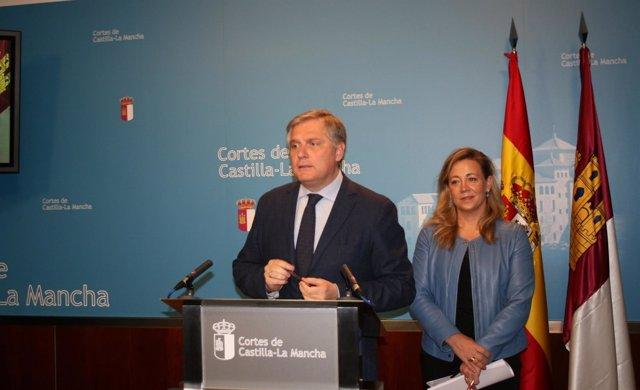 Gpp Clm (Cortes De Voz Y Fotografía) Francisco Cañizares En Rueda De Prensa
