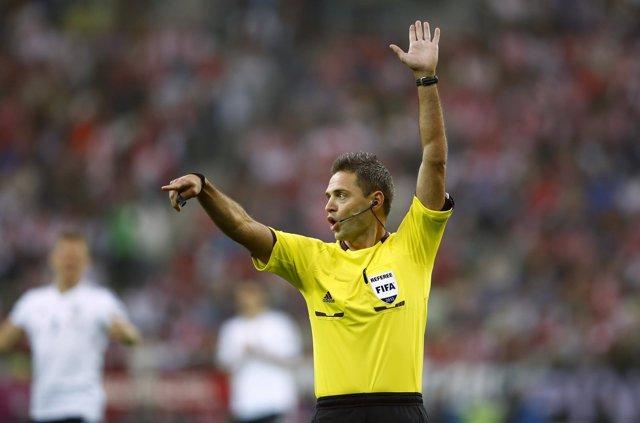 Damir Skomina, árbitro de Champions