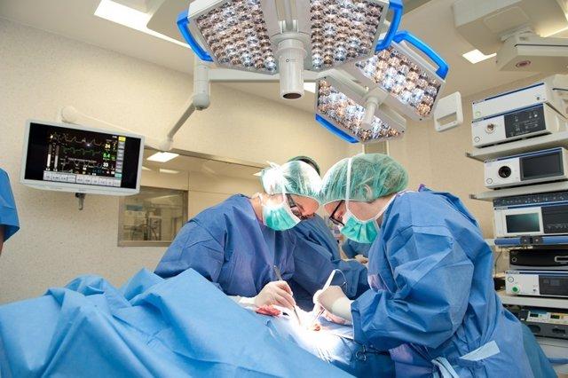 Quirófano del Hospital de Bellvitge
