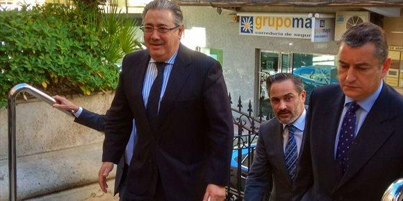 7. Zoido acudirá a la capilla ardiente del Gabriel en la Diputación de Almería