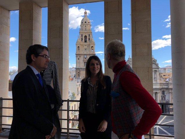 PACHECO Y PEREZ EN PRESENTACIÓN 'Bienvenida De Primavera'