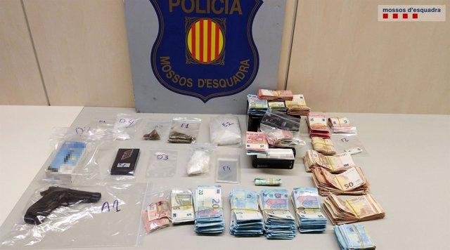 Desmantelan un punto de venta de droga en Tarragona