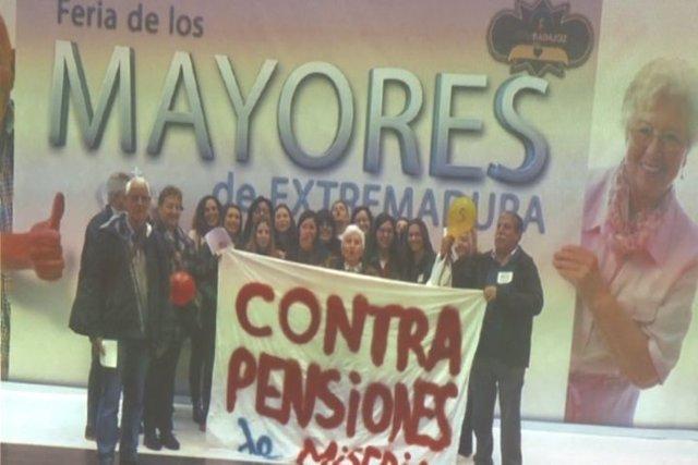 Asamblea de la Plataforma de Pensionistas y Jubilados de Mérida y comarca