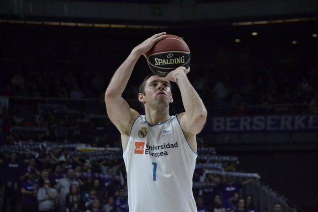 Fabien Causeur (Real Madrid Basket)