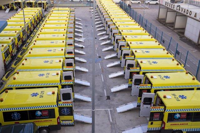 Ambulancias de la Comunidad de Madrid
