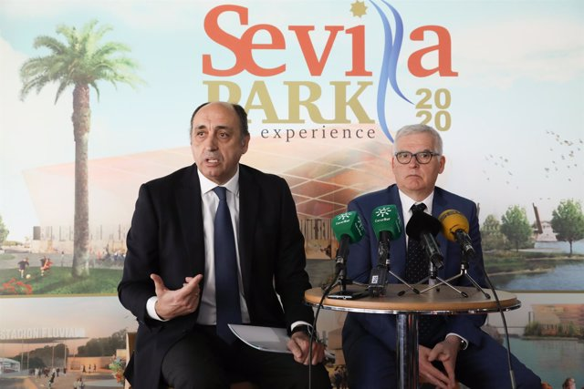 Manuel Saucedo, de  Impulsa Eventos, y Xavier Bartrolí, de Octagon