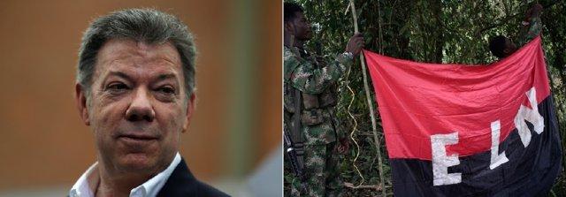 Santos espera que el alto al fuego provoque que el ELN deje también las armas
