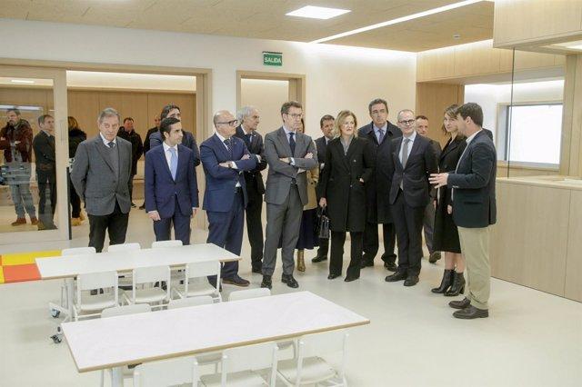 Presentación del Centro Intergeneracional de Ourense