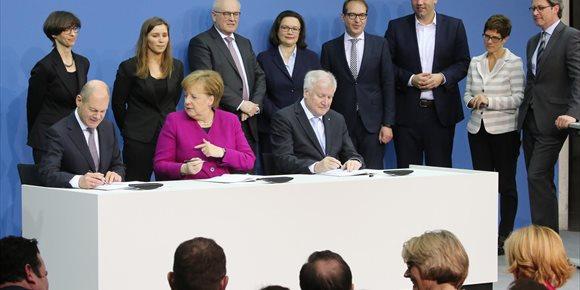 4. Merkel y SPD sellan el nuevo Gobierno en Alemania casi 6 meses después de los comicios