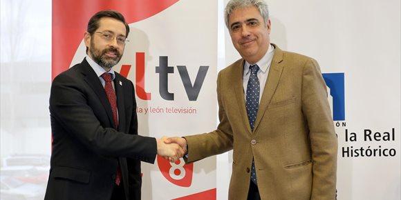 3. RTVCyL y la Fundación Santa María la Real impulsarán el estudio de bienes patrimoniales en la escuela