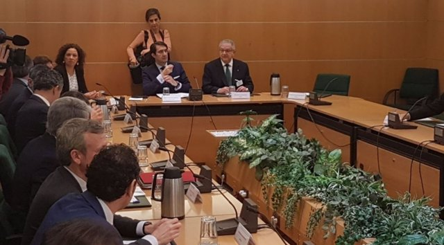 Cladera en la reunión de CCAA con el Ministerio de Interior