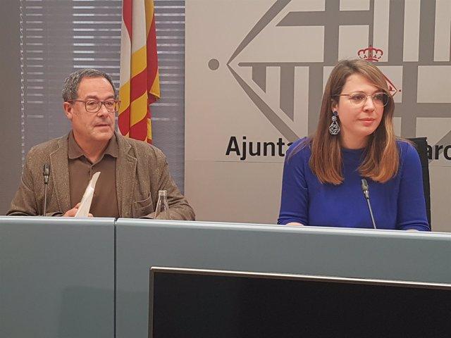 Pere Macias y Janet Sanz