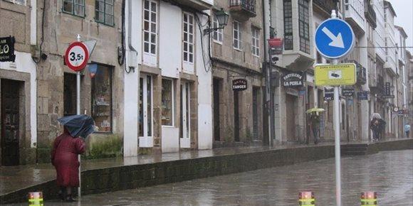 1. Os restos de 'Félix' deixan ventos de 83,4 km/h en Viveiro