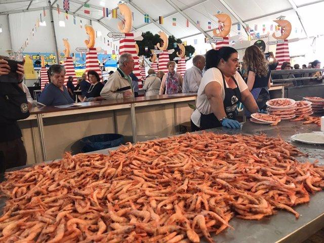 Feria de la Gamba de Punta Umbría (Huelva).