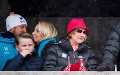 Haakon y Mette-Marit de Noruega, derroche de amor a menos diez grados de temperatura