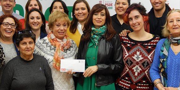 3. El PSOE de la Diputación dona la parte proporcional de su sueldo por el paro de dos horas del 8M
