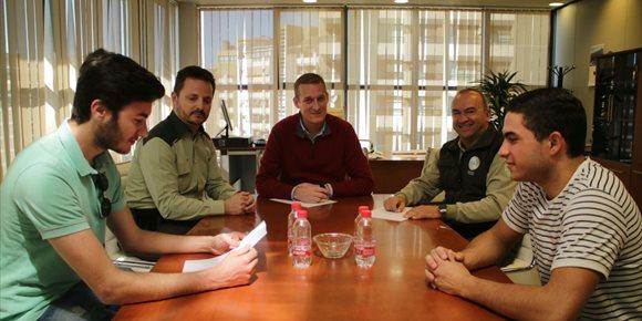 3. Estudiantes del IES Sierra de Gádor completan su formación con prácticas con agentes de AMA