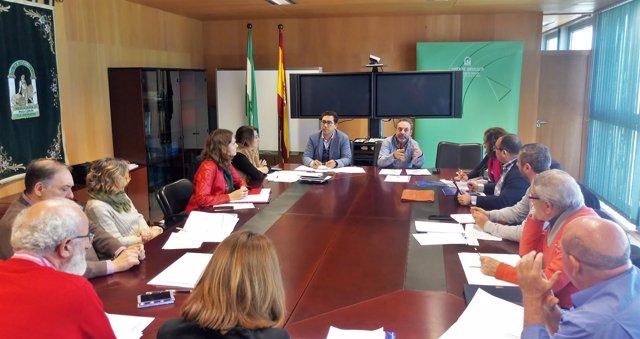 Mesa negociadora de convenio colectivos en Cádiz
