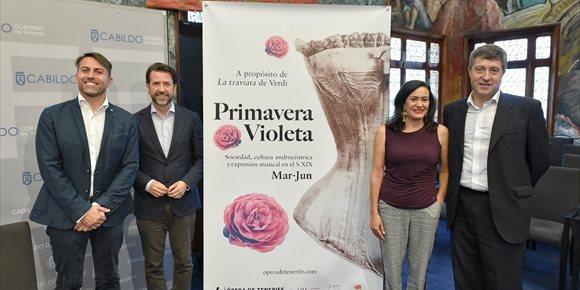 7. El inconformismo de 'La Traviata', eje central del programa 'Tenerife Violeta'