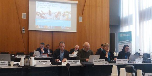3. La EASP participa en el grupo de expertos para la elaboración de la nueva declaración de Alma-Ata de atención primaria