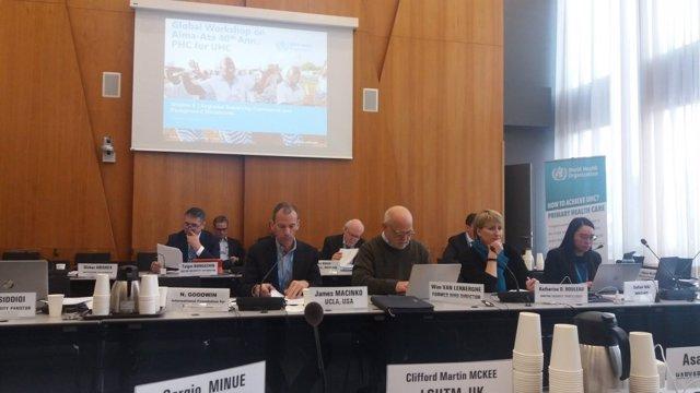 Reunión de expertos para la nueva declaración de Alma-Ata