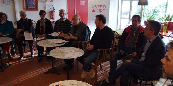 7. El proyecto cultural europeo PYRENART completa su presentación con un acto en Foix (Francia)