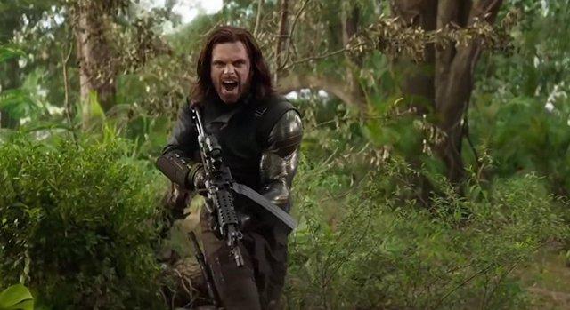 Bucky, el Soldado de invierno, en Civil War