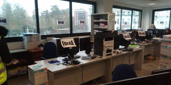 5. A folga da xustiza encara a súa sexta semana: os traballadores piden non baixar da esixencia de 190 euros